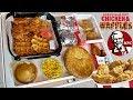 Nashville HOT Chicken and WAFFLES | Cinnabon Biscuits | Pot Pie and More | KFC Mukbang