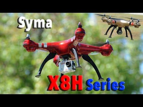 SYMA X8HC X8HG X8HW Auto Altitude Hovering RC Quadcopter Drone Series