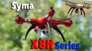 SYMA X8HC X8HG X8HW Auto Altitude Hovering RC Quadcopter Drone Series
