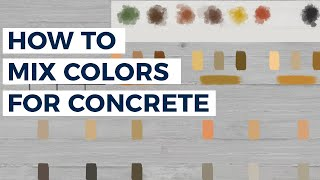 Trinic Tips, Episode 7: How to Mix Color for Concrete Profitably