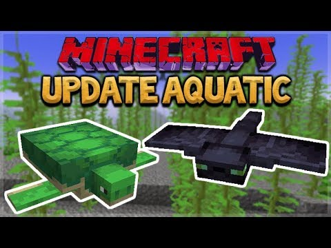 Aquatic Update - Minecraft 1.13 NEW Ocean Update - Survival Island Style!