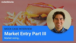 Full case interview example: market sizing (Part III)