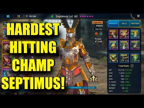 Septimus Champion Guide | Raid: Shadow Legends