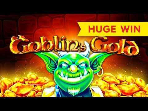HUGE WIN! Goblin's Gold Slot - I LOVED IT! - 동영상