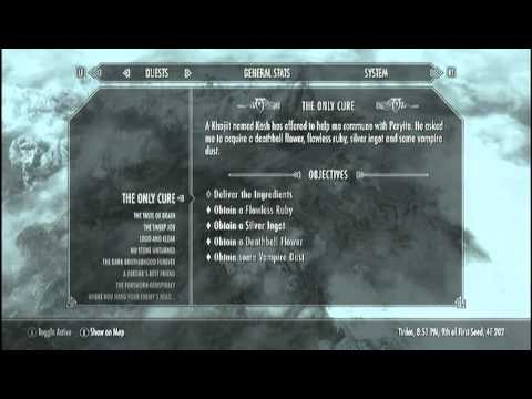 Skyrim- Deathbell location guide
