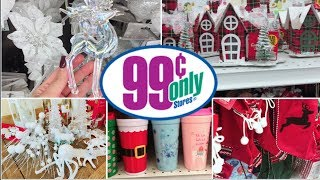 99 CENT STORE CHRISTMAS DECOR| SHOP WITH ME + HAUL!!!!!