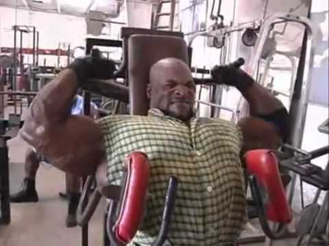 Ronnie Coleman Shoulder Training