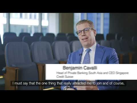 Benjamin Cavalli - Head of Private Banking South Asia and Singapore CEO