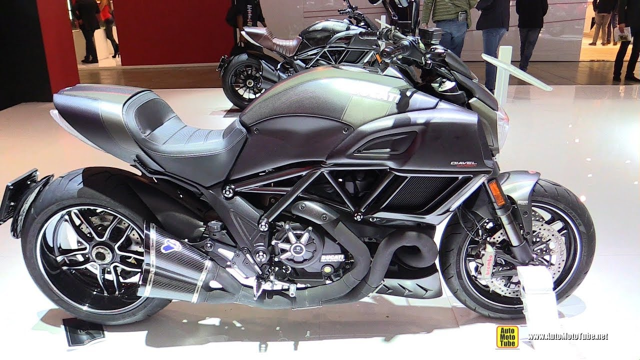 2018 Ducati Diavel Carbon Walkaround 2017 Eicma Milan Motorcycle