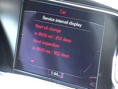 Audi a6 service intervals