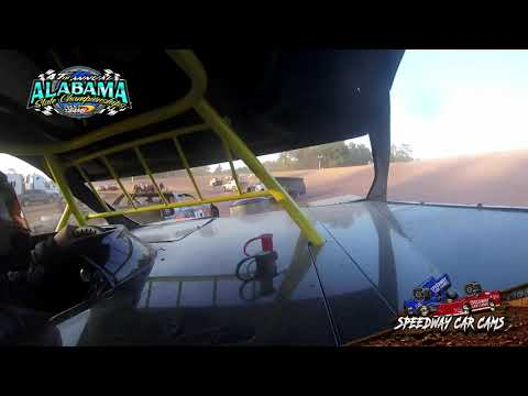 #56 Chris Bayhi - Street Stock - 9-22-19 East Alabama Motor Speedway - In-Car Camera