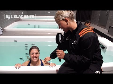 Roaming the rooms with the Black Ferns
