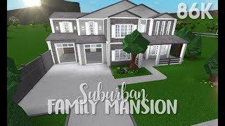 ROBLOX | Bloxburg: Suburban Family Mansion + Bloxburg Giveaway