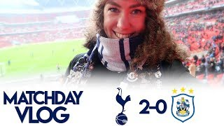 HEUNG MIN SON IS ON 🔥 | MATCHDAY VLOG: Spurs 2-0 Huddersfield | Premier League 2017/18
