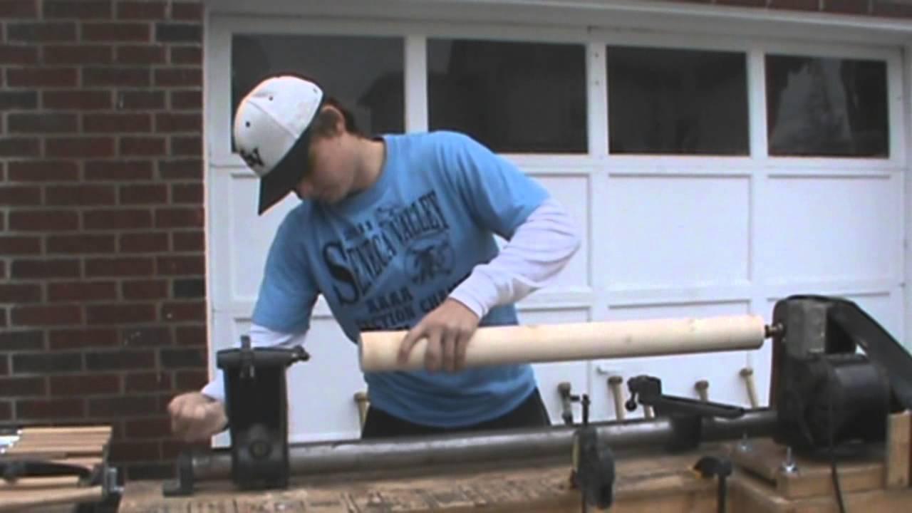 Brad Gresock How To Make A Wooden Baseball Bat Youtube