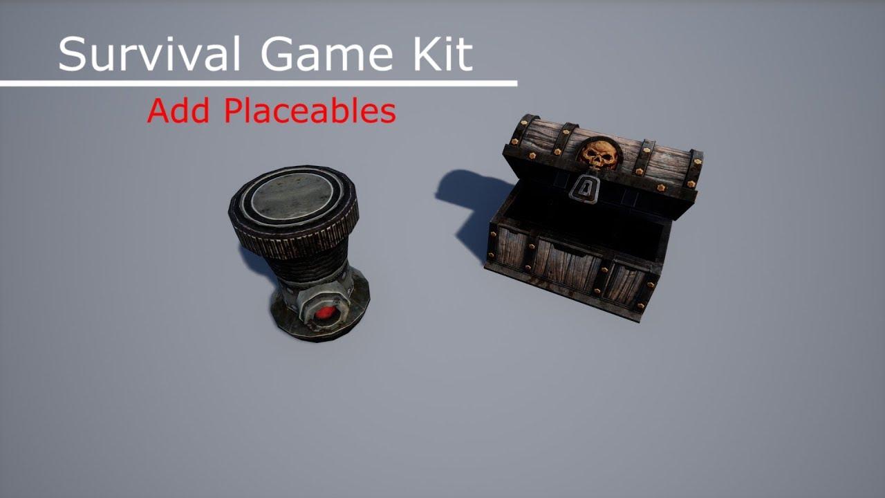 Survival Game Kit (Add Placeables) - Смотреть видео бесплатно онлайн
