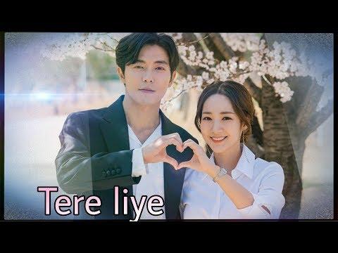 Tere Liye💑    Kim Jae Wook & Park Min Young's Romantic Moments    Korean Mix