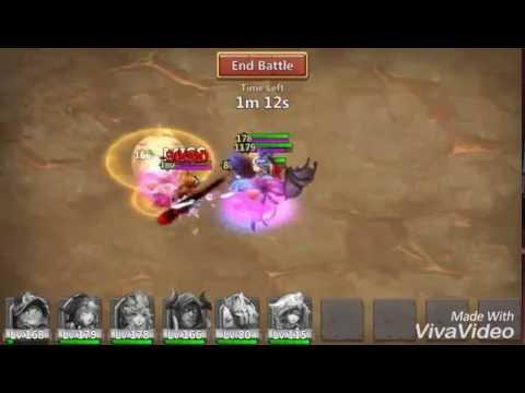 Castle Clash Boss 5 Rage Goblin Slowdown Startegy