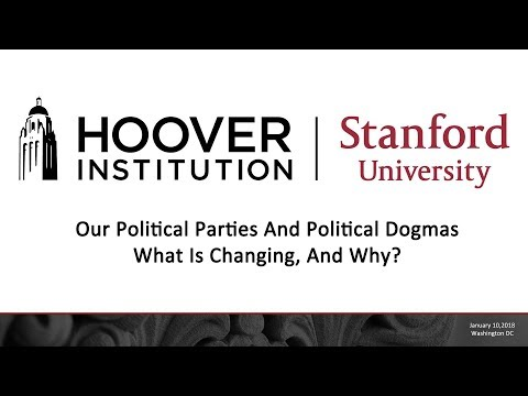 Our Political Parties And Political Dogmas-What Is Changing, And Why?