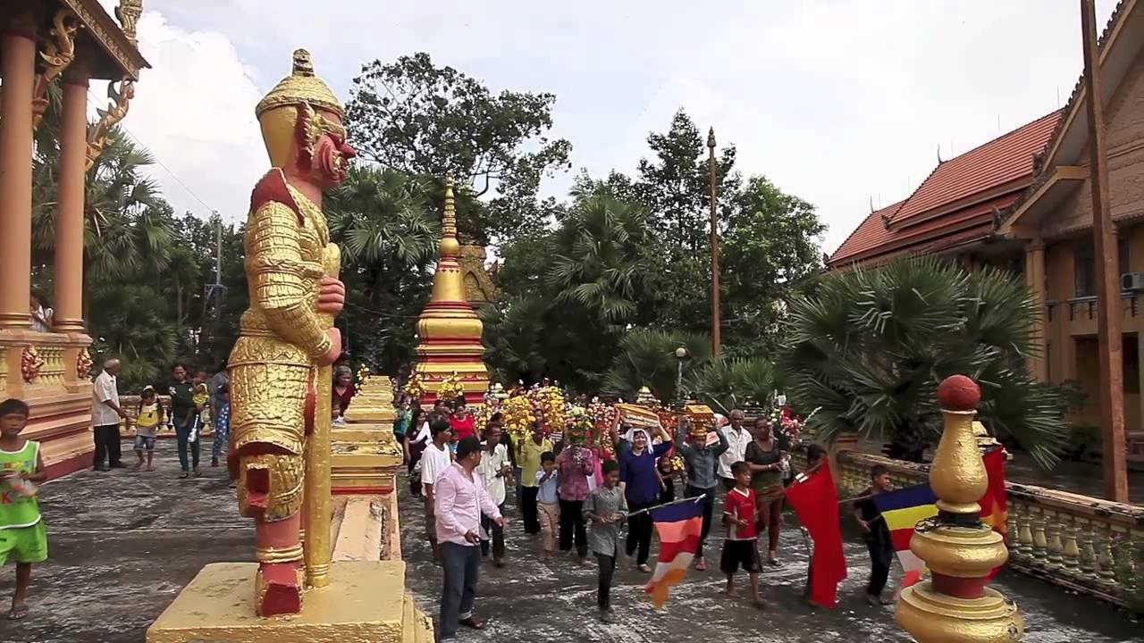 Lễ Hội Kathina – Chùa Kh'leang – Tp Sóc Trăng