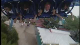 a full ride on seaworld s new manta roller coaster