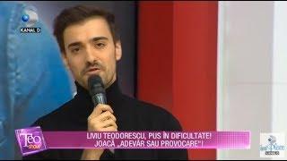 Teo Show (14.11.2017) - Liviu Teodorescu a jucat