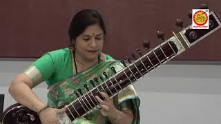 Raga Puriya Kalyan Sitar Recital by \Anupama Bhagwat an Kousik Banerjee on Tabla