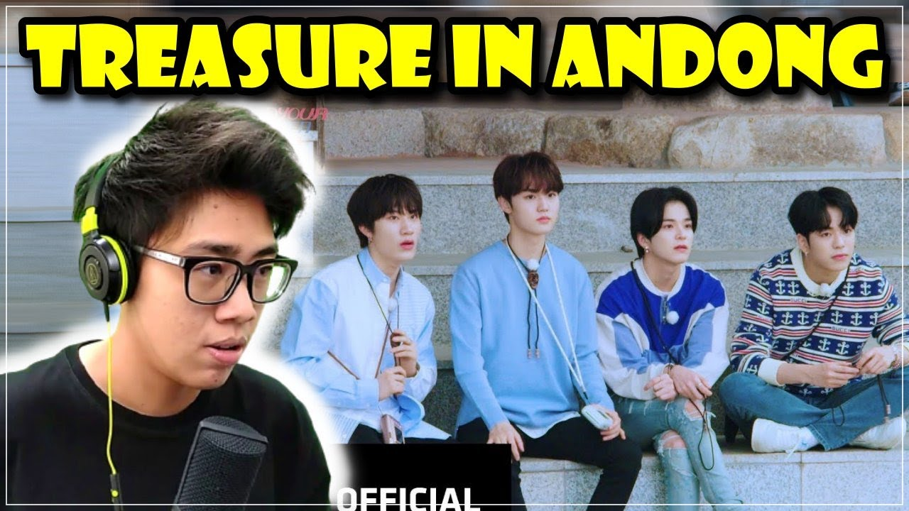 TREASURE FIND YOUR KOREA [ANDONG] EP02 REACTION - 안동