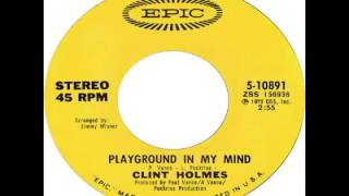 Watch Clint Holmes Playground In My Mind video