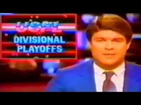 USFL Control Central 1984 - Jim Lampley Discusses the Longest Game in Pro Football History