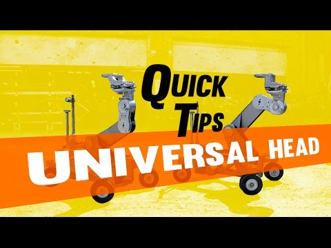 Film And Video Equipment: Chapman Leonard Quick Tips Universal Head