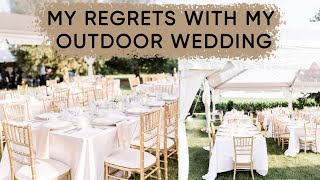 What I learned from planning my outdoor wedding | ELA BOBAK
