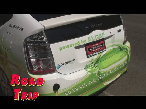 RoadTrip: Algae Powered Prius and the Veggie Van Tour