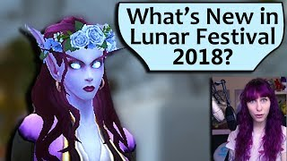 What's New in Lunar Festival 2018 in WoW?
