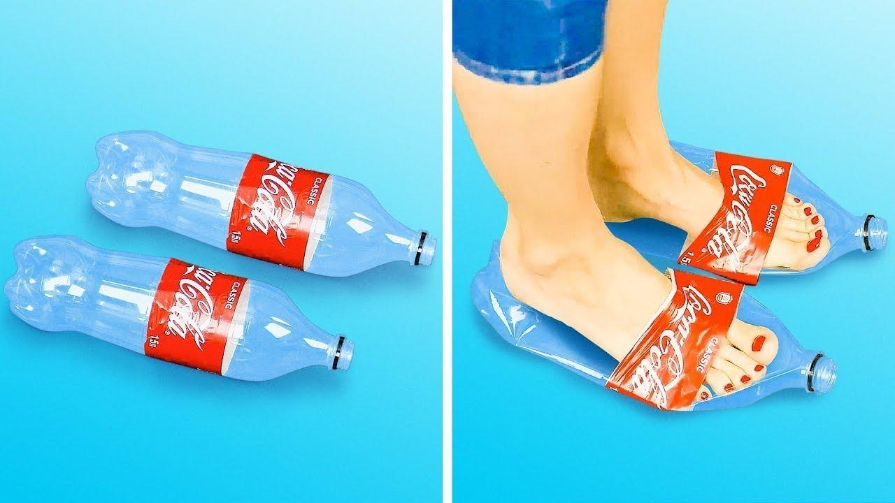 De Niños Para Botellas Manualidades Plástico Con 17 3RjSc54LqA
