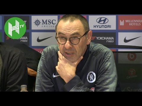 Chelsea 5-0 Huddersfield | Sarri: We finally played my football!