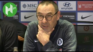 Chelsea 5-0 Huddersfield | Sarri: We finally played my football!