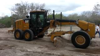 Grader - Heavy equipment making an RV park