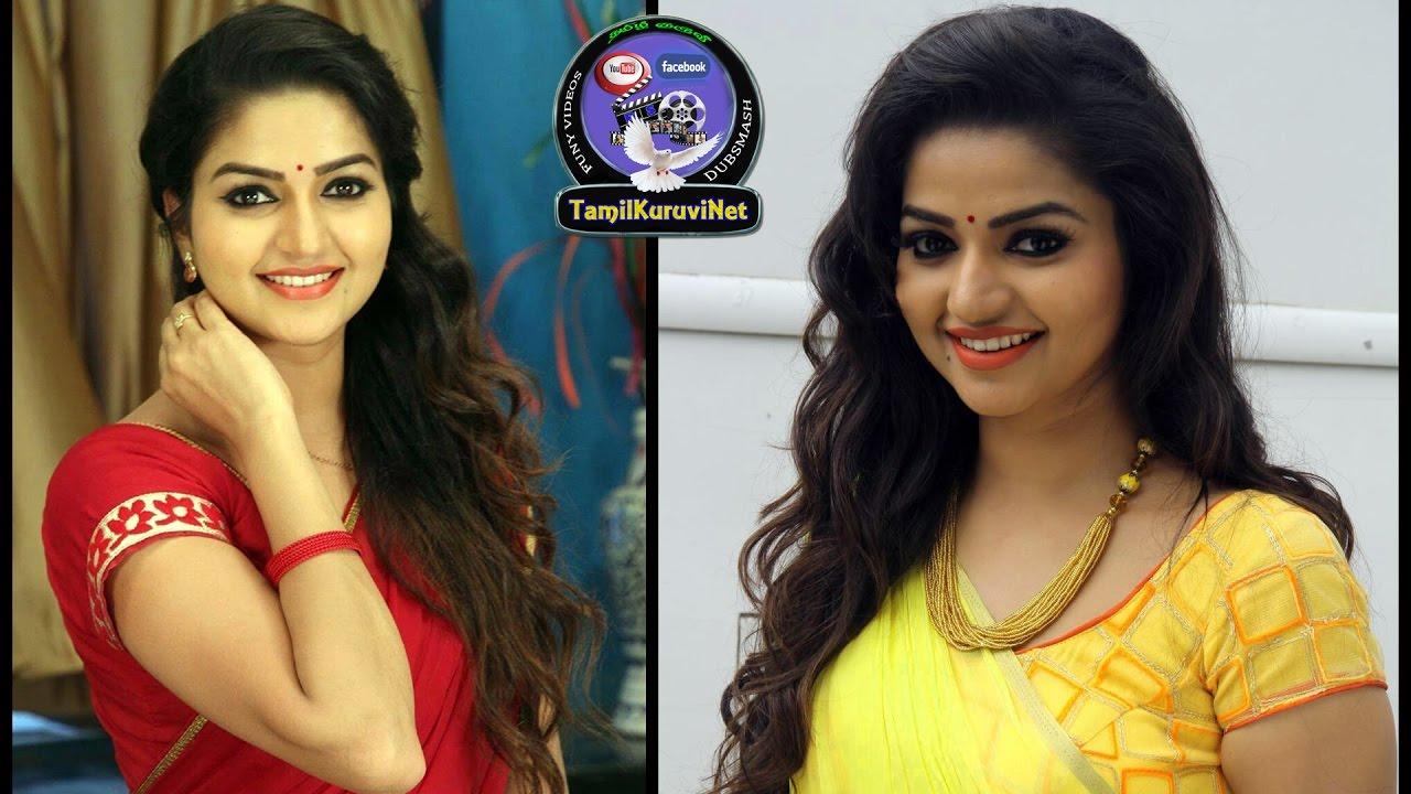 Nandhini Sun Tv Serial Actress Cute Nithya Ram Family