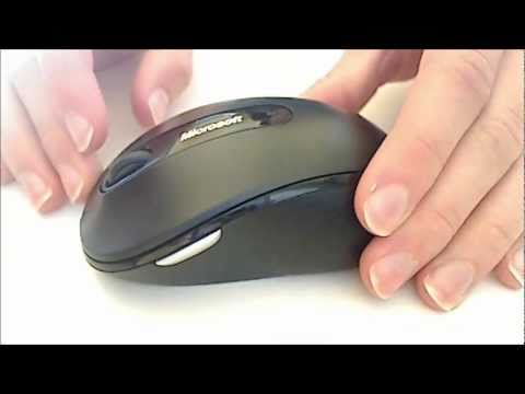 8eef13fa2e0 Microsoft Wireless Mobile Mouse 4000 review - YouTube