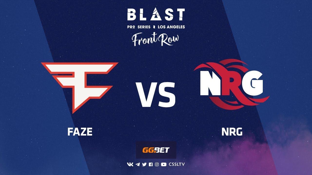 FaZe vs NRG | Nuke | BLAST Pro Series Los Angeles 2019