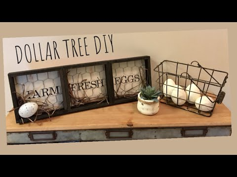 DOLLAR TREE DIY HOBBY LOBBY DUPE!!!