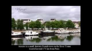 Auxerre-France. Walk around the city/????-???????. ???????? ?? ??????