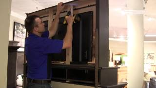 How to install a TV into a Mirropane