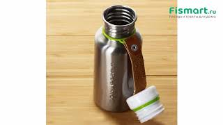 Покупки для кухни | Чайники и термосы: обзор Фляга Water Bottle Large 750 мл сталь-лайм BAM-WB-L001
