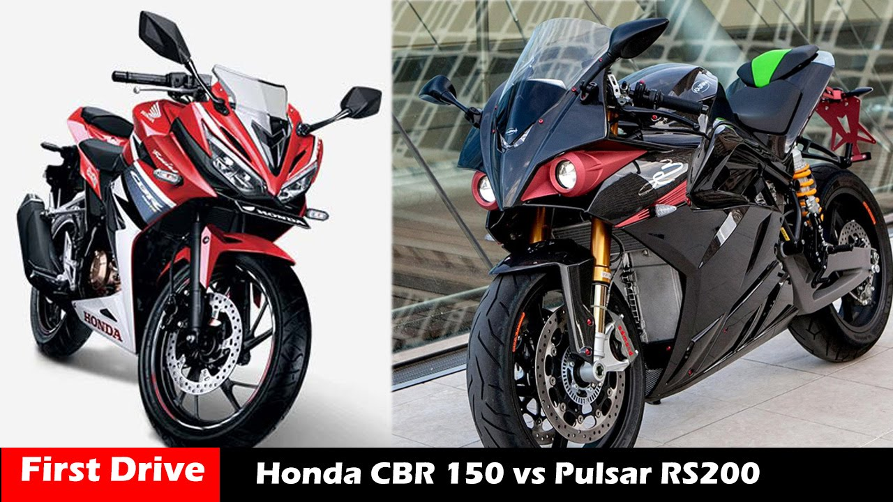 Bajaj pulsar rs200 vs ktm rc200 vs honda cbr250r comparison youtube - New Honda Cbr 150 Vs Bajaj Pulsar 200rs Compare First Drive Youtube