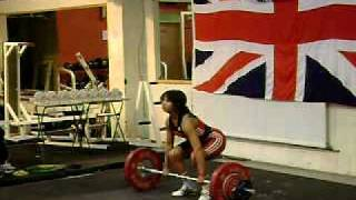 Zoe Smith Clean and jerk (2) 89 kg @ 58