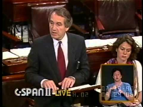 Senator Harkin Delivers Floor Speech in American Sign Language Upon Passage of the ADA