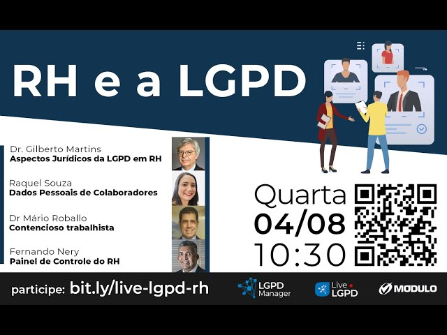 Live RH e a LGPD - 4/8