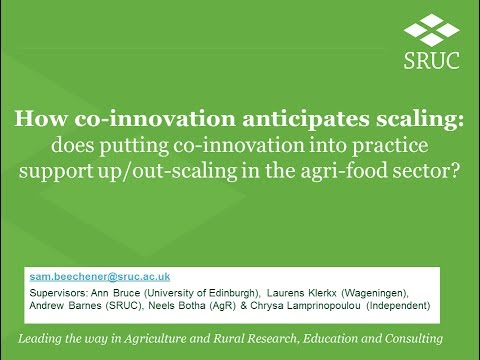 How co-innovation anticipates scaling